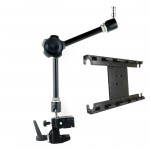 Adjustable iPad Mounting Cradle/Friction Knob Universal Mount