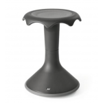 "Hokki Stool - 20""H, Black-Grey"