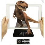 Dinosaur FlashCards 4D Augmented Reality