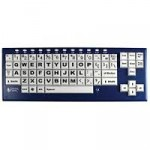 BigBlu VisionBoard Bluetooth Large-Key Keyboard