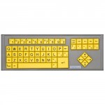 BigKeys LX Yellow / QWERTY